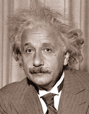 A picture of Albert Einstein